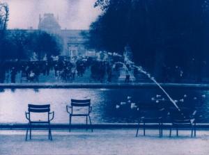 cyano serie 7 - Tuileries 2
